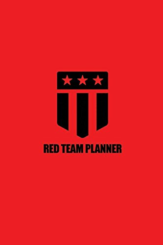 Red Team Planner: (Red & Black) de Joshua Picolet