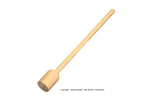 """K K &Herb Pounder Cabbage Masher, Beech, 60 x 5.5 CM for MS by K&K Keramik"" de K&K Keramik"