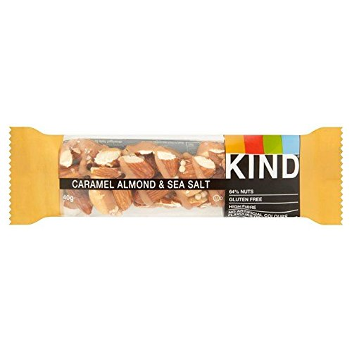 Kind Bars Caramel Almond & Sea Salt Bar 40g de Kind Bars