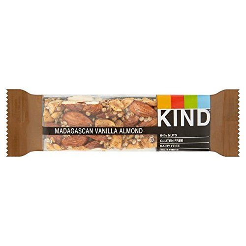 Kind Bars Madagascan Vanilla Almond Bar 40g de Kind Bars