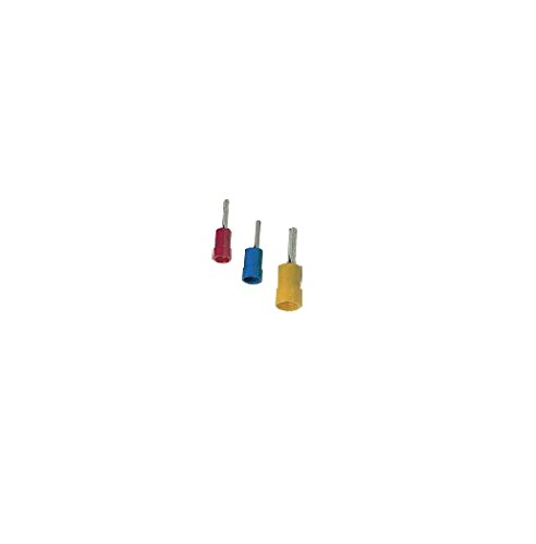 KPS 702200018 terminaux preaislados, Terminal – Pointe, 0.5 mm² 1.5 mm² section du conducteur, 100 emballage, rouge de KPS