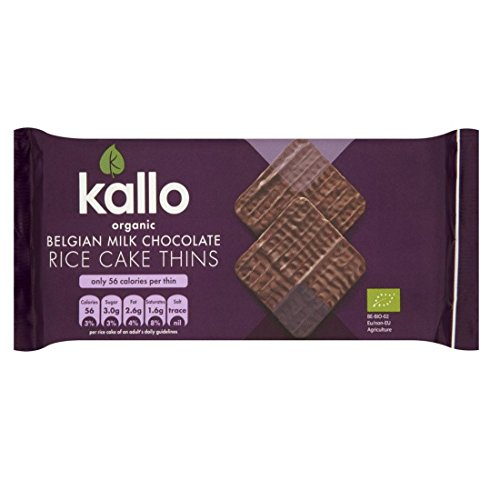 Kallo | Milk Chocolate Rice Cakes OG | 12 x 90g de Kallo