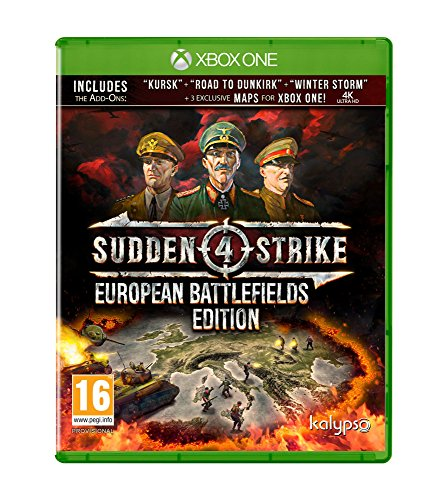 Sudden Strike 4 European Battlefields Xbox One Game de Kalypso