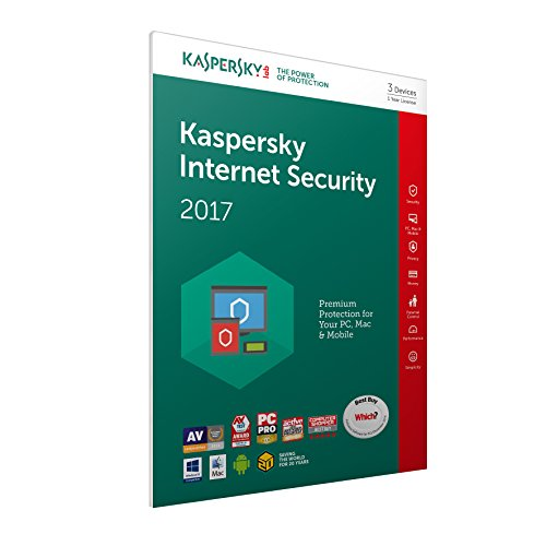 Kaspersky Lab - Kaspersky Internet Security Multi-Device 2017 - 3 Device FFP de Kaspersky Lab