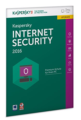 Kaspersky Internet Security 2016 Upgrade - 3 PCs / 1 Jahr (Frustfreie Verpackung) [import allemand] de Kaspersky