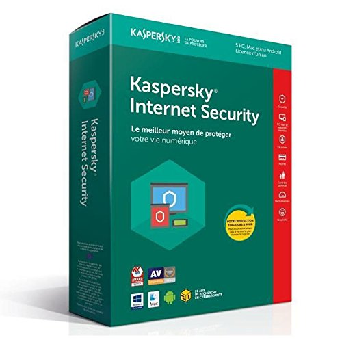 Kaspersky Internet Security 2018 | 5 Postes | 1 An |  PC/Mac/Android/iOS | Téléchargement de Kaspersky