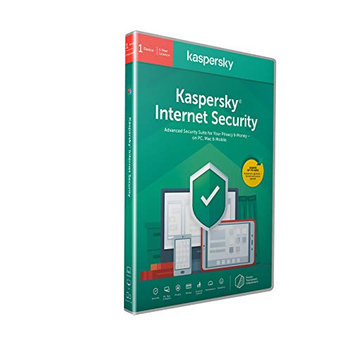 Kaspersky Internet Security 2018 | 1 Device | 1 Year | PC/Mac/Android | Download de Kaspersky