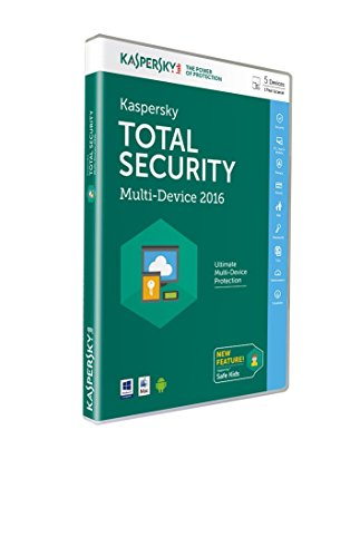 Kaspersky - Total Security - Multi-Device 2016 (5 Appareils, 1An) de Kaspersky