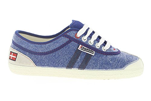 Kawasaki SAB, Slim, Sneakers Basses Adulte Mixte - Bleu - Blau (Dark Navy, 592), 43