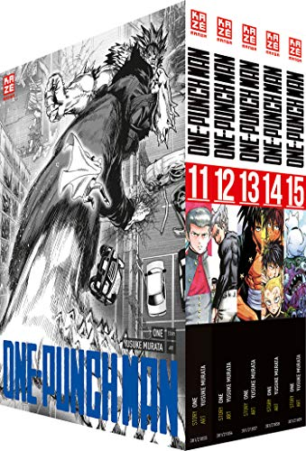 ONE-PUNCH MAN - Box mit Band 11-15: -limitiert- de KAZÉ Manga