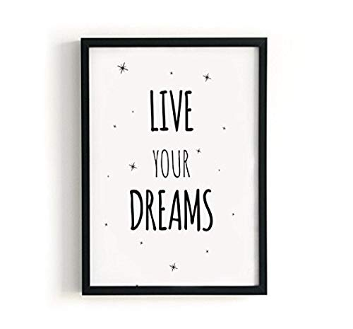Kenay Home Lame Dreams A4, Papier, Blanc et Noir, 210 x 297 mm de Kenay Home