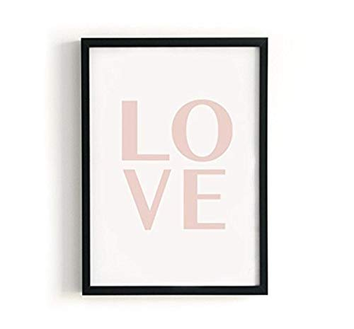 Kenay Home Lame Love A4, Papier, Blanc et Rose, 210 x 297 mm de Kenay Home