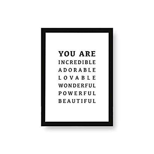 Kenay Home Lame You are A4, Papier, Blanc et Noir, 210 x 297 mm de Kenay Home