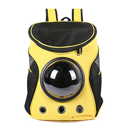 Kicode Portable Pet Bag Pet Backpack Space Capsule Multicolor Outdoor Carrier for small animal de Kicode