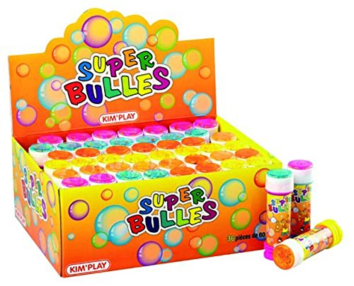 Kim'play - 984100 - Bulles De Savon - 60 Ml de Kim'Play