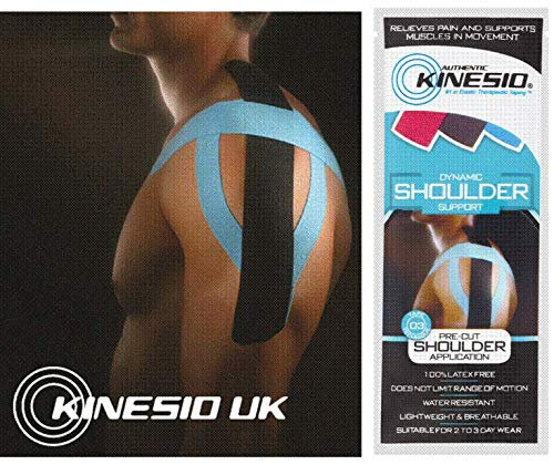 Kinesio General Home hyperalle genic Cotton Tape Pre Cut Shoulder Muscle de support de Kinesio