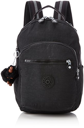 Kipling SEOUL GO S Cartable, 35 cm, 8 liters, Noir (True Black) de Kipling