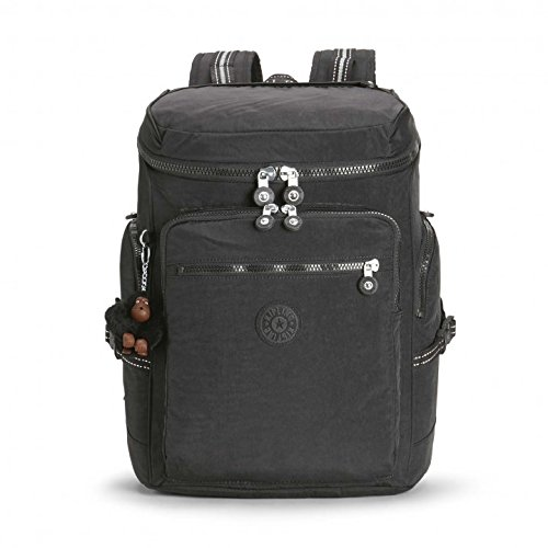 Kipling UPGRADE Cartable, 28 L-Noir (True Black)-46 x 30 x 12 cm de Kipling