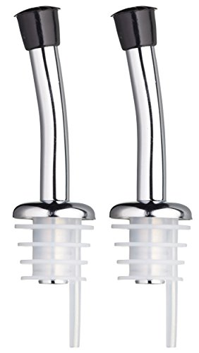 Kitchen Craft KCBOTPOUR Set de 2 Bouchons Verseurs, Acier Inoxydable, Argent, 9 x 12 x 16 cm de Kitchen Craft