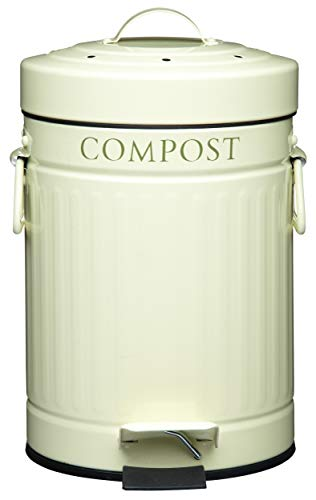 """Kitchen Craft Poubelle à pédale """"Compost"""" 3 L"" de Kitchen Craft"