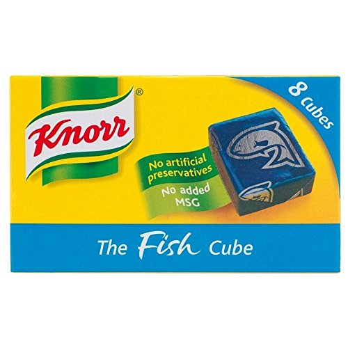 Knorr Fish Stock Cubes 8 x 10g, 2 Pack de Knorr