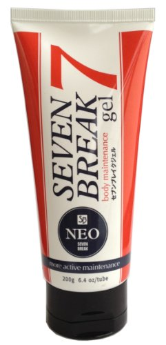 Seven Breakgel Neo (Japanese Sliming Gel) 200g (japan import) de LIBERTAS