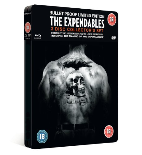 Expendables Collector's Edition Steel Tin - Double Play (Blu ray + DVD) [Blu-ray] [Import anglais] de LIONSGATE FILMS