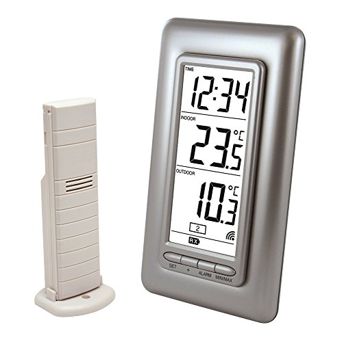 La Crosse Technology WS9162IT-SIL temperature station silver de La Crosse Technology