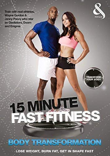15 Minute Fast Fitness With Jenny Pacey And Wayne Gordon [Edizione: Regno Unito] [Import italien] de Lace