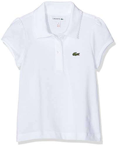 Lacoste PJ3594, Polo Fille, Blanc (Blanc), 3 Ans (Taille Fabricant 2f2da610350