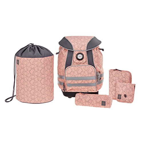 Lässig School Set Spooky Set de Sacs Scolaires 40 Centimeters Rose (Peach) de Lässig