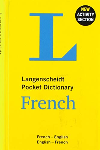 Langenscheidt Pocket Dictionary French: French-English / English-French de Langenscheidt