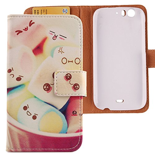 Lankashi Housse Case Cuir Cover Skin Etui Coque Protection Pour Wiko Darkfull Lovely Design de Lankashi