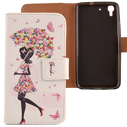 """Lankashi Housse Etui Coque Protection Case Cuir Cover Skin Pour 5"""" Orange Dive 70 Umbrella Girl Design"" de Lankashi"