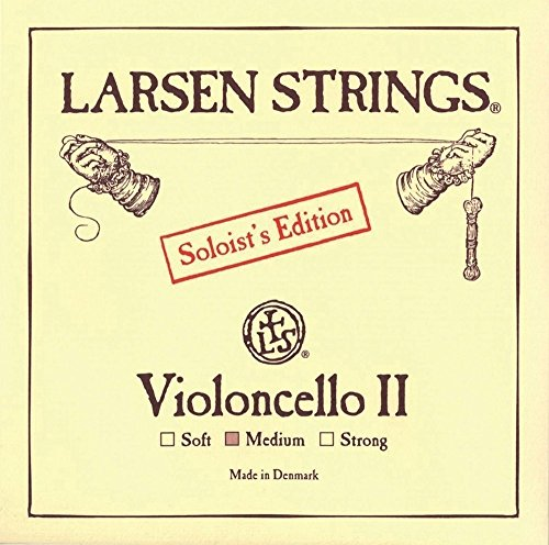 Larsen Saiten für Cello Ré acier chromé Soloist's Edition ll 4/4; Medium de Larsen