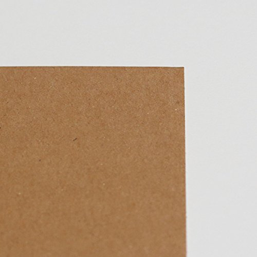 Eco 10 feuilles de format A4 naturel rustique Kraft Carte Craft 350 g/m² de Laserables