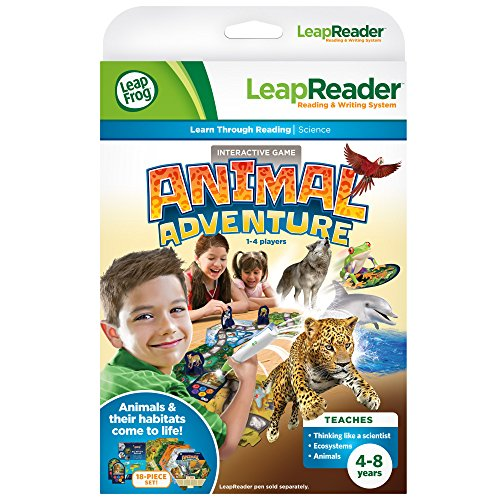 LeapFrog Leap Reader Animal Adventure Quest by LeapFrog de LeapFrog
