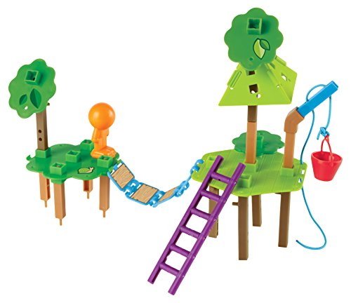 Learning Resources Ltd - Cabane dans les Arbres - Ingénierie et Design Jeu de Construction de Learning Resources