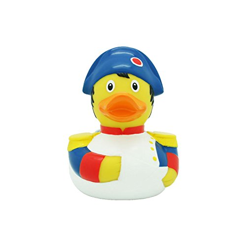 Lilalu 8 x 8 cm/50 g Collector and Baby Napoleon Rubber Duck Bath Toy de LiLaLu