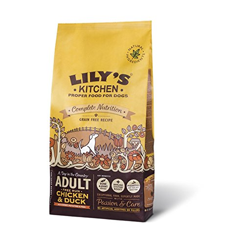 Chicken and Duck Dry Food for Dogs - 1kg de Lily's Kitchen