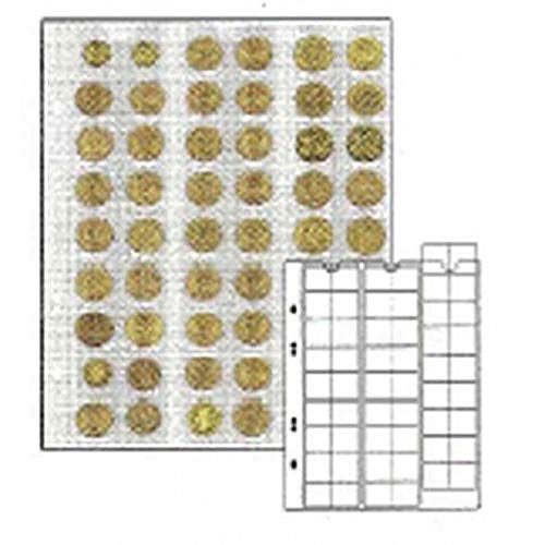 Coin pages UNIVERSAL for 54 coins, 5 pieces [Lindner MU54] de Lindner