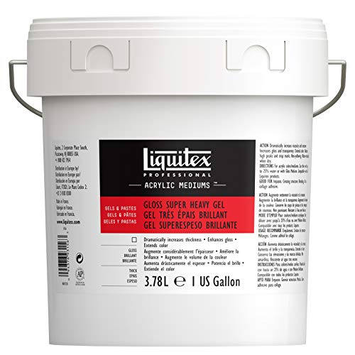 Liquitex Professional Pot d'Additif gel Brillant Super épais Taille M 3,78 L de Liquitex