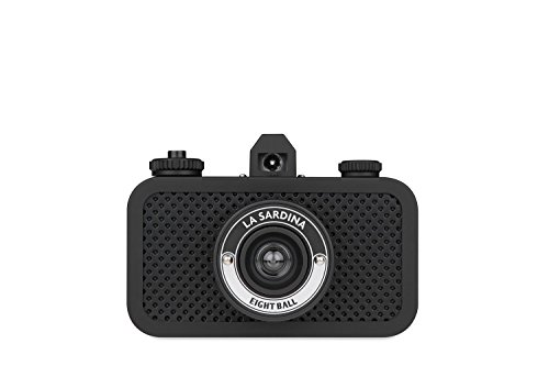 Lomography SP100AB La Sardina 8Ball Appareil Photo Compact 35 mm - Noir de Lomography