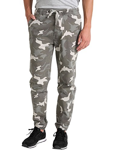 """Lower East Confortable, Pantalon Homme, Multicolore (Carmouflage), 52 (Taille Fabricant: Large)"" de Lower East"