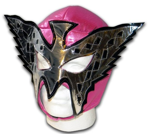 Princesse Papillon rose Masque catch mexicain adulte Lucha de Luchadora