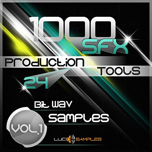 1000 SFX Production Tools Vol.1, Commercial Sound Effects [WAV Files (24Bit)] [Download] de LucidSamples