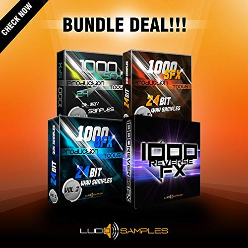 4000 SFX Production Tools for Creating Music | DVD non Box de LucidSamples