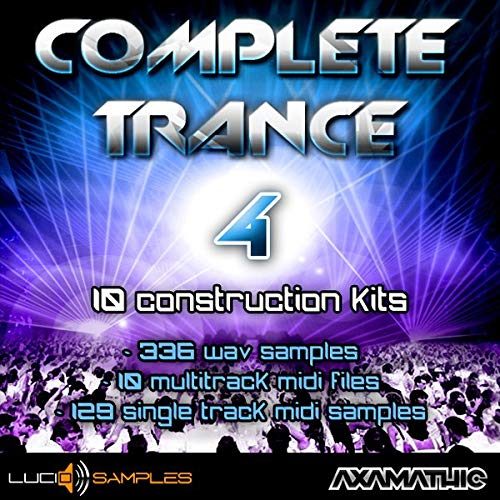 Complete Trance Vol. 4 - 10 Advanced Trance Construction Kits | DVD non Box de LucidSamples