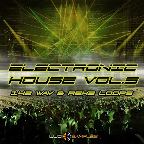 Electronic House Vol. 3 - 221 MB of House Loops & Sounds | DVD non Box de LucidSamples