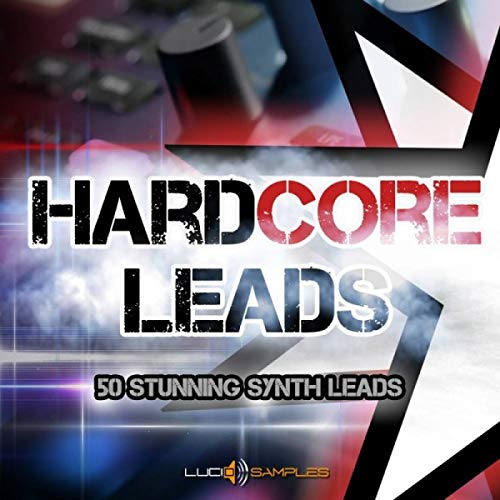 Hardcore Leads - Excellent Multisampled Synth-Leads for Hardcore | SF2 Samples | DVD non Box de LucidSamples